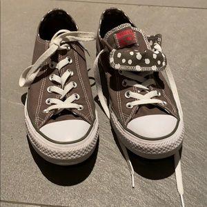 Gently worn gray chuck taylor converse